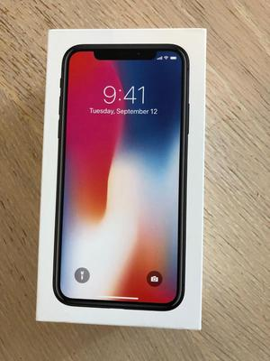 IPhone X brand new in box unlocked top of the Range 256 gb space grey