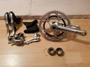 Campagnolo Athena 11 speed groupset. As new