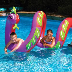 """Swimline 96"""" Two Headed Curly Serpent Swimming Pool"""