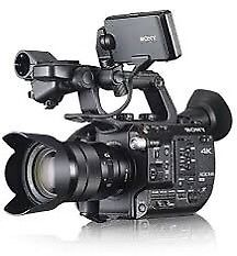 Sony FS5 inc field monitor and extra battery