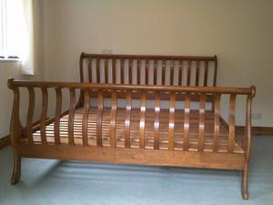 Super Kingsize Bed frame (WILLIS & GAMBIER) NO Mattress Available