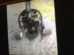 Electric golf cart with brand new battery