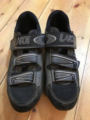 Lake Road Cycling Shoes with Cleats Size EU 44