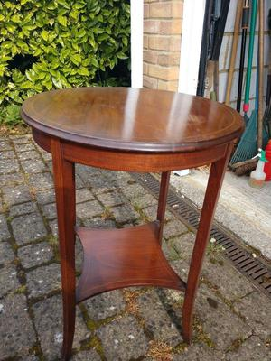 Antique Edwardian Occasional Table Round