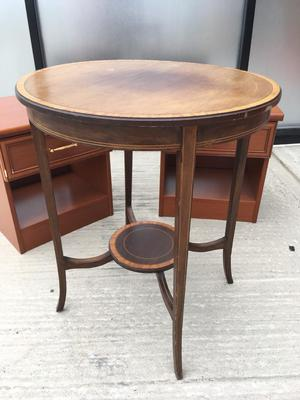 Edwardian round occasional table