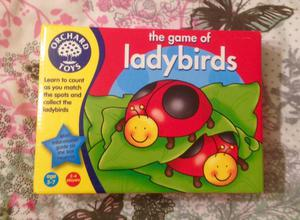 Orchard Toys The Game of Ladybirds. Ages 3-7. Complete And Very Good Condition.