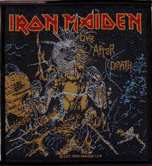 Iron Maiden Live After Death Patch Official Heavy Metal New