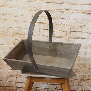 New Rustic Wooden Trug