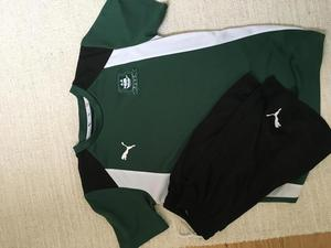 Boys Plymouth Argyle t-shirt and shorts