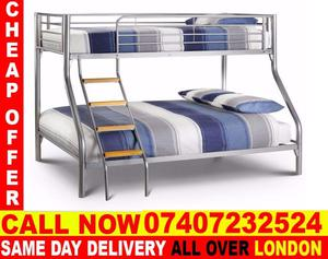 DOUBLE TRIO BUNK BED AND SUPER ORTHOPAEDIC MATTRESS.. Lyndon Station