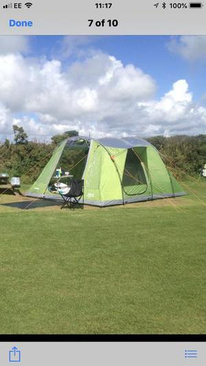 Vango da Vinci 500 tent and side awning