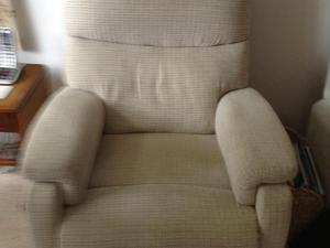 Two recliner chairs