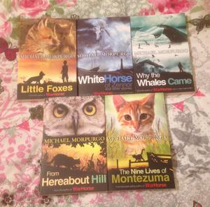 Michael Morpurgo 5 Paperback Book Bundle. All In Unread Condition.