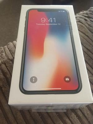 Brand New and Sealed Apple iPhone X 64GB in Space Grey Vodafone