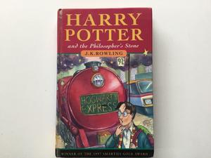 Harry Potter and the Philosopher's Stone 1st addition. Published by Ted Smart.