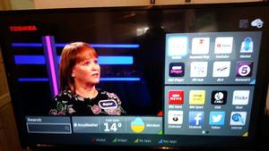 """Toshiba 49"""" Smart led tv with freeview"""