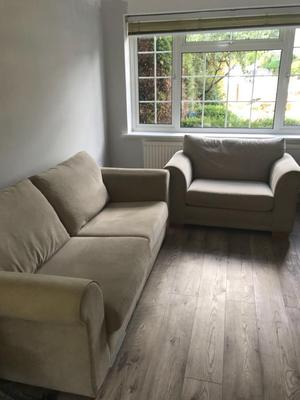 2 Person Sofa and Couple Seat