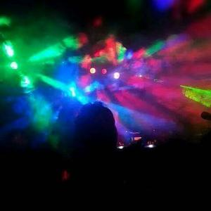 Band DJ duo lights stands lasers