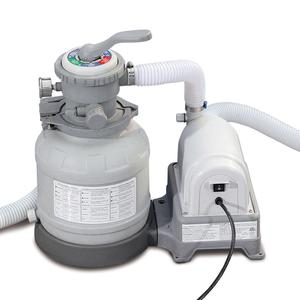 Summer Waves Swimming Pool Sand Filter Pump With Gfci