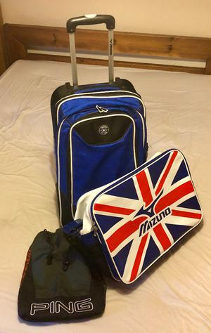 MIZUNO & PING GOLF KIT BAGS - FROM £10 - CASH ON COLLECTION ONLY