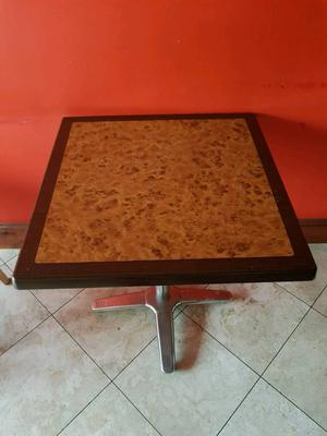 Tables, chairs, fridges, freezers, gas oven/cook, coffee machine
