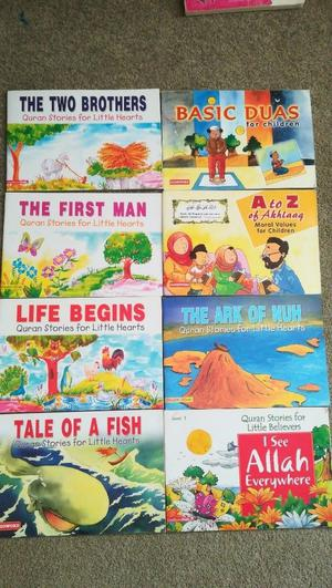 Ten great Islamic children books stories of the prophets and building great characters Newham