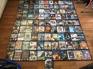 100 ps2 Sony PlayStation 2 games bundle job lot collection