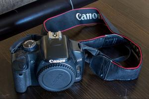 Canon EOS 450D body & battery charger