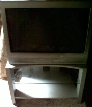 Toshiba SD Television with Stand & Remote Control -