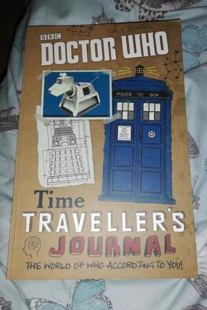NEW BBC DOCTOR WHO TIME TRAVELLERS JOURNAL BOOK DR WHO FAN