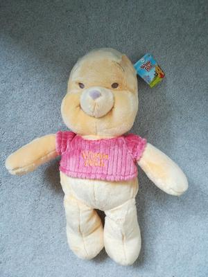 """Winnie the Pooh Flopsies Plush Soft Toy Whinne the Pooh 14"""""""