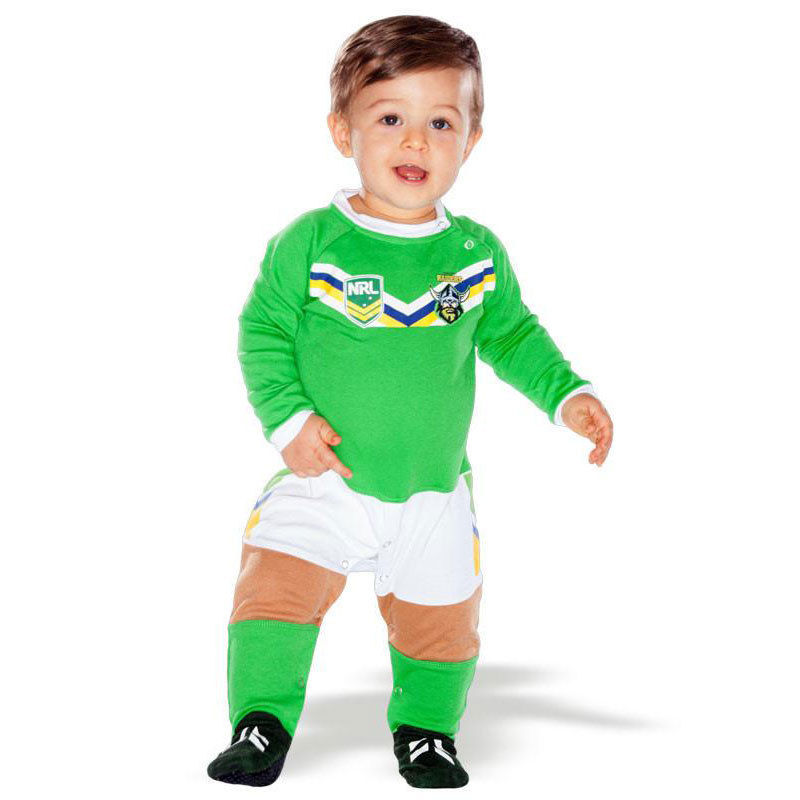 NRL Canberra Raiders Baby Footysuit - Sizes