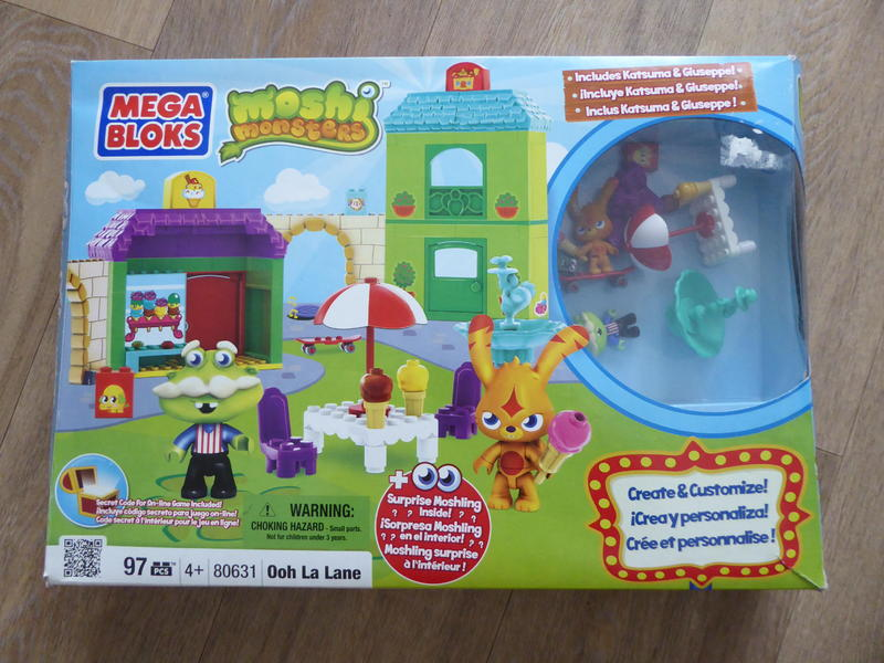 Mega Bloks Moshi Monsters.
