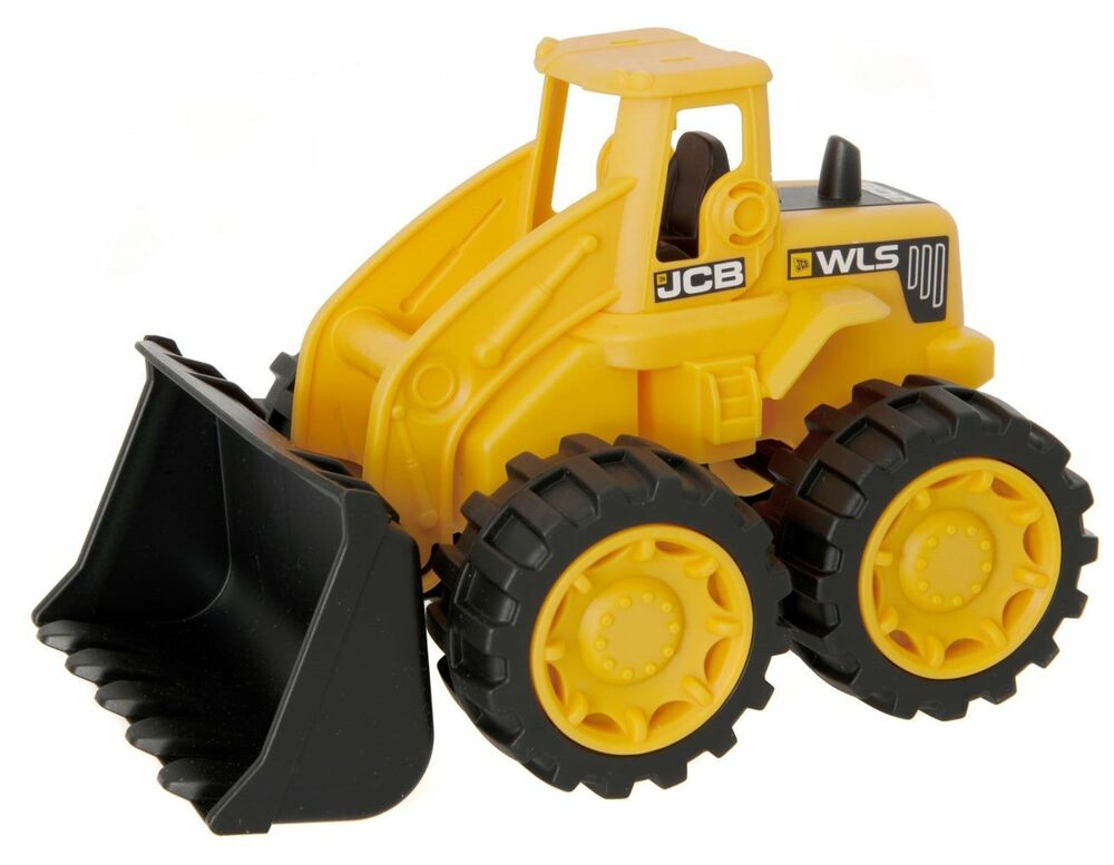 JCB 7-inch Children Kids Plastic Wheeled Loader Construction