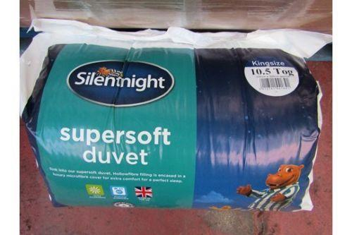 SILENTNIGHT SUPERSOFT 10.5 TOG KINGSIZE DUVET
