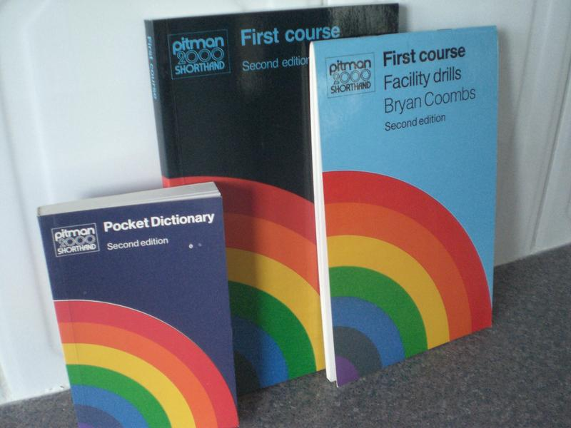 Pitman  shorthand full new set of new books