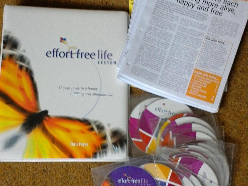 Effort Free Life System - Self Improvement CDs and Playbook