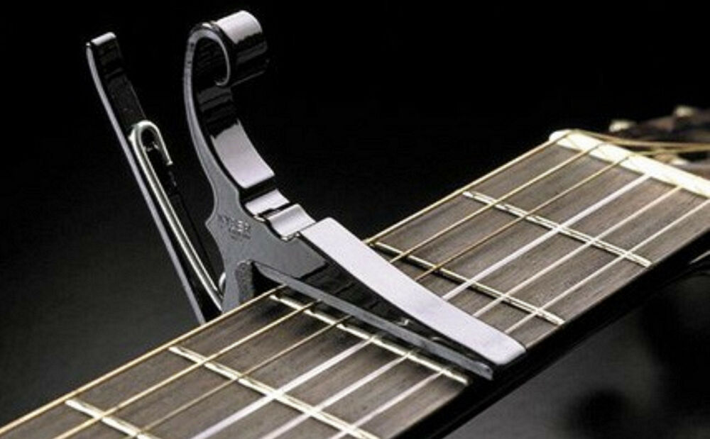 Kyser KGEB Quick Change Capo for Electric Guitar 6 string