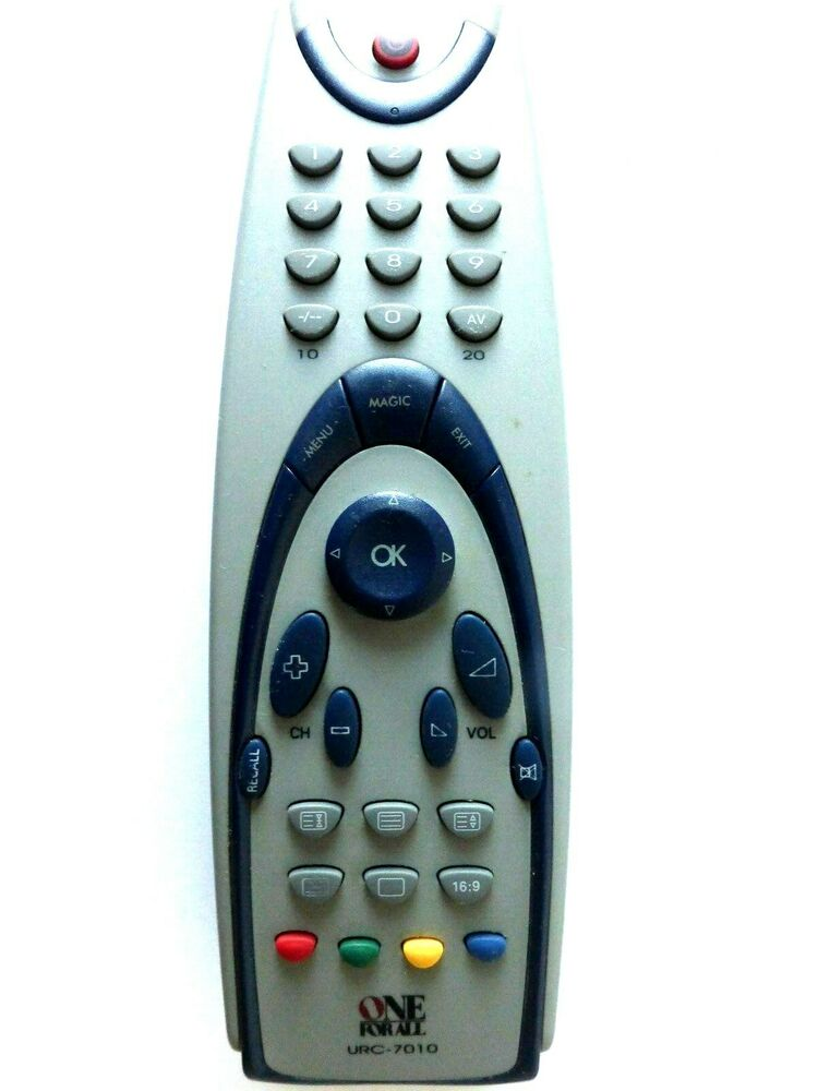 ONE FOR ALL UNIVERSAL TV REMOTE CONTROL URC-