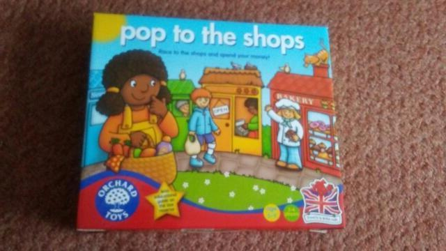 pop to the shop s educational game age 5-9 excellent