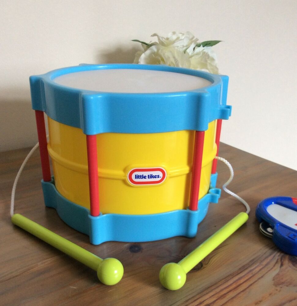 Little Tikes Tap-A-Tune Drum Kids Musical Toy Playset Age
