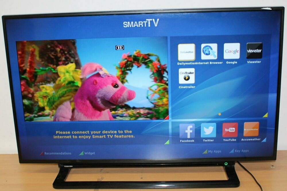 "TOSHIBA 40UDB 40"" 4K Full HD P SMART INTERNET LED TV"