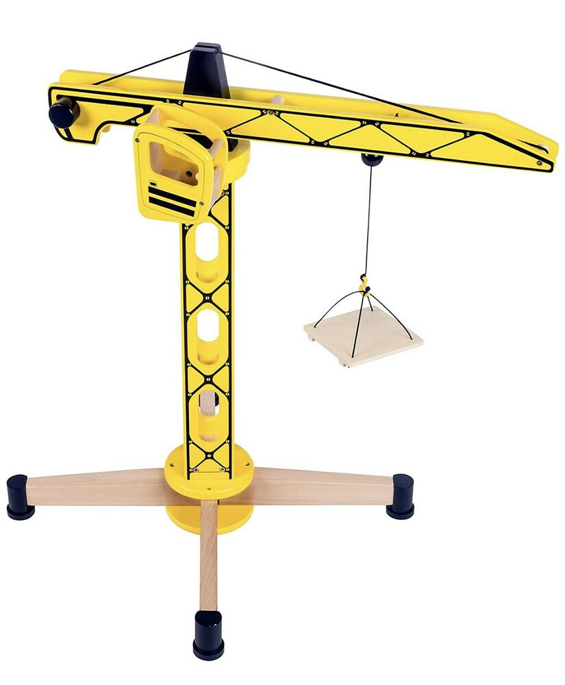 Tidlo Toys Tower Crane 61.5cm High by John Crane