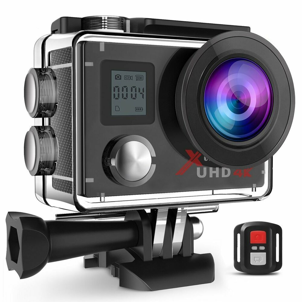 Campark ACT76 Action Camera 4K Wifi Sport Waterproof Cam
