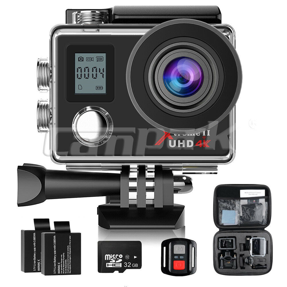Campark ACT76 Sport Action Camera WiFi HD 16MP 4K Waterproof