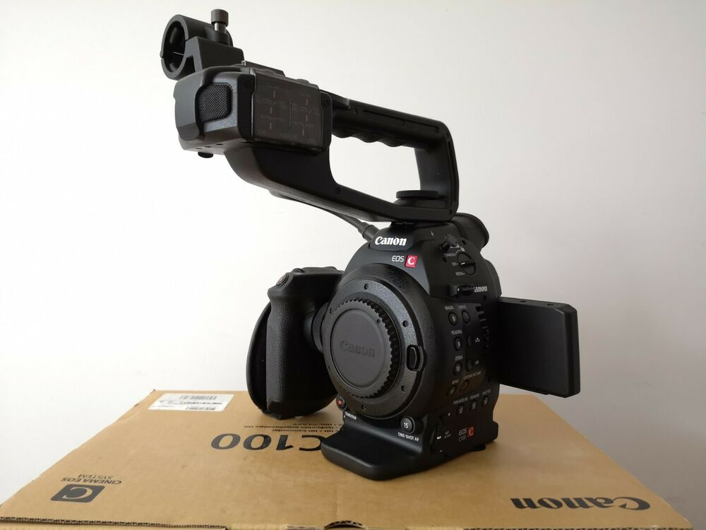 Canon Cinema EOS C100 with DAF - EXCELLENT CONDITION (Only