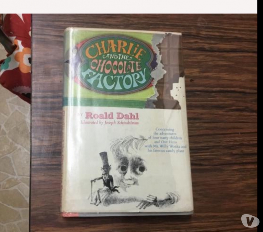 Charlie and the chocolate factory first edition