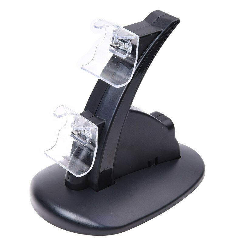 Dual Charging Charger Stand Dock Station Holder for Xbox One