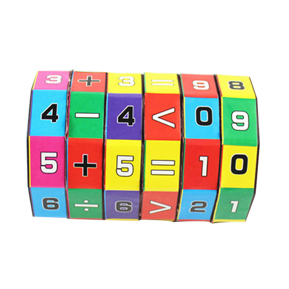 New Mathematics Numbers Magic Cube Toy Puzzle Game Gifts