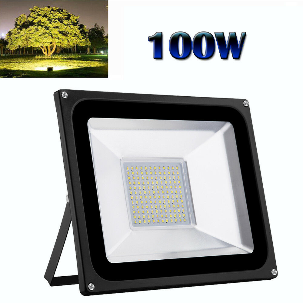 100W LED Floodlight Waterproof Outdoor Walkway Security